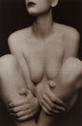 Photographs, Yuri Dojc (Canadian, 1946). Two Nudes; Seated Nude (2 works). Photo silkscreens on Rives BFK paper. ...