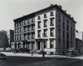 Photographs, Berenice Abbott (American, 1898-1991). Fifth Avenue, Houses No. 4, 6, and 8, 1936. Gelatin silver prin...