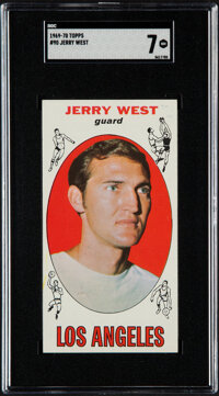 1969-70 Topps Jerry West #90 SGC NM 7