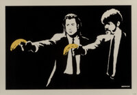 Banksy (b. 1974) Pulp Fiction, 2004 Screenprint in colors on paper 19 x 27 inches (48.3 x 68.6 cm) (sheet) Ed. 437/6