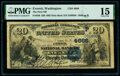 Everett, WA - $20 1882 Date Back Fr. 550 The First National Bank Ch. # (P)4686 PMG Choice Fine 15.<