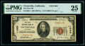 National Bank Notes:California, Victorville, CA - $20 1929 Ty. 1 The First National Bank Ch. # 11005 PMG Very Fine 25.. ...