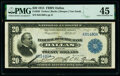 Fr. 828 $20 1915 Federal Reserve Bank Note PMG Choice Extremely Fine 45