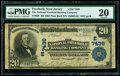 National Bank Notes:New Jersey, Freehold, NJ - $20 1902 Plain Back Fr. 650 The National Freehold Banking Company Ch. # (E)7436 PMG Very Fine 20.. ...