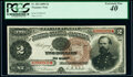 Fr. 354 $2 1890 Treasury Note PCGS Extremely Fine 40