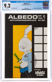 Albedo #2 (Thoughts and Images, 1984) CGC NM- 9.2 White pages