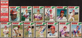Autographs:Sports Cards, 1977 O-Pee-Chee Cincinnati Reds Signed Card Lot of 13. ...