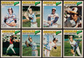 Autographs:Sports Cards, 1977 O-Pee-Chee Baltimore Orioles Signed Card Lot of 8. ...