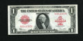 Large Size:Legal Tender Notes, Fr. 40 $1 1923 Legal Tender Choice About New....