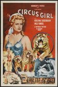 "Movie Posters:Adventure, Circus Girl (Republic, 1956). One Sheet (27"" X 41""). Adventure...."