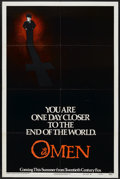 """Movie Posters:Horror, The Omen (20th Century Fox, 1976). One Sheet (27"""" X 41"""") Advance Style A. Horror...."""