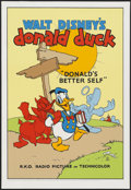 "Movie Posters:Animated, Donald's Better Self (Circle Fine Art, 1980s). Poster (30.75"" X21"") Fine Art Serigraph. Animated...."