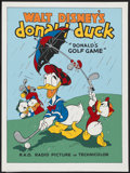 "Movie Posters:Animated, Donald's Golf Game (Circle Fine Art, 1980s). Poster (30.75"" X 21"")Fine Art Serigraph. Animated...."