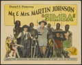 "Movie Posters:Documentary, Simba: The King of the Beasts (Martin Johnson African Expedition Corp., 1928). Title Lobby Card (11"" X 14""). Documentary...."