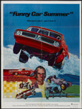 "Movie Posters:Documentary, Funny Car Summer (Ambassador, 1974). One Sheet (27"" X 41""). Documentary...."