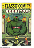 Golden Age (1938-1955):Classics Illustrated, Classic Comics #30 The Moonstone (Gilberton, 1946) Condition:GD/VG. First print of this issue. Don Rico cover and art. Over...