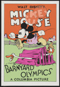 "Movie Posters:Animated, Barnyard Olympics (Circle Fine Art, 1980s). Fine Art Seriagraph(21"" X 30.75""). Animated...."