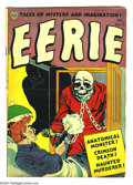 Golden Age (1938-1955):Horror, Eerie #11 (Avon, 1953) Condition: VG. Overstreet 2003 VG 4.0 value= $65....