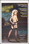 """Movie Posters:Adult, Blonde in Black Silk & Other Lot (Praexis, 1979). Folded, Very Fine+. One Sheets (2) (27"""" X 41"""") Adult.. ... (Total: 2 Items)"""