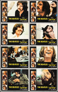 """Movie Posters:Rock and Roll, Let It Be (United Artists, 1970). Fine/Very Fine. Lobby Card Set of 8 (11"""" X 14""""). Rock and Roll.. ... (Total: 8 Items)"""
