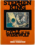 Memorabilia:Comic-Related, Stephen King and Bernie Wrightson Cycle of the Werewolf Illustrated Hardcover Book (The land of Enchantment/Christ...