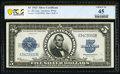 Large Size:Silver Certificates, Fr. 282 $5 1923 Silver Certificate PCGS Banknote Choice XF 45.. ...