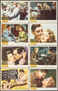 """Movie Posters:Drama, Homecoming (MGM, 1948). Fine/Very Fine. Lobby Card Set of 8 (11"""" X 14"""") & German Program (4 Pages, 7"""" X 10.5"""") Drama.. ... (Total: 9 Items)"""