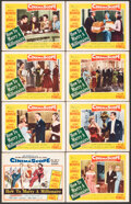 """Movie Posters:Comedy, How to Marry a Millionaire (20th Century Fox, 1953). Fine. Lobby Card Set of 8 (11"""" X 14"""") & Trimmed Window Card (Approx. 11... (Total: 9 Items)"""