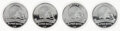 Football Collectibles:Others, Kansas City Chiefs Super Bowl LIV Commemorative Coins, Lot of 4....