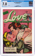 Love Experiences #7 (Ace, 1951) CGC FN/VF 7.0 Cream to off-white pages