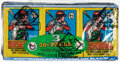 Baseball Cards:Unopened Packs/Display Boxes, 1979 Topps Baseball Wax Pack Trays Lot of 12 - Ozzie Smith Rookie Year! ...