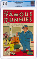 Golden Age (1938-1955):Humor, Famous Funnies #159 (Eastern Color, 1947) CGC FN/VF 7.0 Cream to off-white pages....