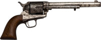7th Cavalry Custer U.S. Colt Single Action Army Revolver, 4-Digit