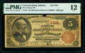 Lawrenceburg, IN - $5 1882 Brown Back Fr. 471 The Citizens National Bank Ch. # 4281 PMG Fine 12