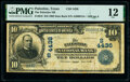 National Bank Notes:Texas, Palestine, TX - $10 1902 Date Back Fr. 619 The Palestine National Bank Ch. # (S)4436 PMG Fine 12.. ...