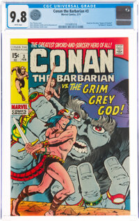 Conan the Barbarian #3 (Marvel, 1971) CGC NM/MT 9.8 White pages