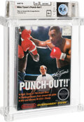 Video Games:Nintendo, Mike Tyson's Punch-Out!! - Wata 9.4 A+ Sealed [Rev-A, Round SOQ, Mid-Production], NES Nintendo 1987 USA....