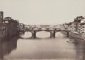 Photographs, Fratelli Alinari (Italian, 1854-1920). The Arno River, Florence, Italy, 1850s. Salt print from wet plate negative. 11-3/...