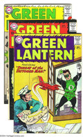 Silver Age (1956-1969):Superhero, Green Lantern #23-25 Group (DC, 1963) Condition: Average VG/FN. All have Gil Kane art. Overstreet 2003 value for group = $90...