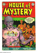 Golden Age (1938-1955):Horror, House of Mystery #8 (DC, 1952) Condition: VG+. Curt Swan art.Overstreet 2003 VG 4.0 value = $86....