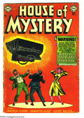 Golden Age (1938-1955):Horror, House of Mystery #9 (DC, 1952) Condition: GD+. Overstreet 2003 GD2.0 value = $43....