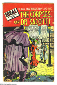 Ideal #2 and 3 Group (Timely, 1948) Condition: GD+. This lot consists of issues #2 (The Corpses of Dr. Sacotti) and 3 (J...