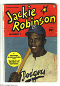 Golden Age (1938-1955):Non-Fiction, Jackie Robinson #2 (Fawcett, 1950) Condition: VG-. Storiesfeaturing the famous baseball player. Photo cover. Overstreet200...