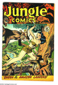 Jungle Comics #102 (Fiction House, 1948) Condition: FN+. Matt Baker art. Overstreet 2003 FN 6.0 value = $57