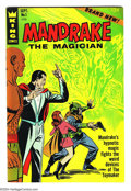 "Silver Age (1956-1969):Mystery, Mandrake the Magician #1 (King Features Syndicate, 1966) Condition:VF/NM. First issue published by King Features. ""S.O.S. P..."