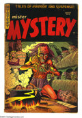 Golden Age (1938-1955):Horror, Mister Mystery #18 (Aragon Magazines, Inc., 1954) Condition: GD+.Bondage cover. Basil Wolverton art. Overstreet 2003 GD 2.0...