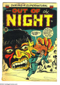 Golden Age (1938-1955):Horror, Out of the Night #16 (ACG, 1954) Condition: VG. Overstreet 2003 VG4.0 value = $44. ...