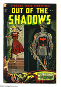 Golden Age (1938-1955):Horror, Out Of The Shadows #14 (Standard, 1954) Condition: VG. Overstreet2003 VG 4.0 value = $60. ...