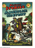 """Golden Age (1938-1955):Non-Fiction, Picture Stories From American History #2 (EC, 1946) Condition: VF.""""Part Two -- The period of colonization and independence...."""