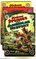 Golden Age (1938-1955):Non-Fiction, Picture Stories From American History Group (EC, 1946-47)Condition: Average GD. This lot consists of issues #1, 3, and 4.O... (Total: 3 Comic Books Item)